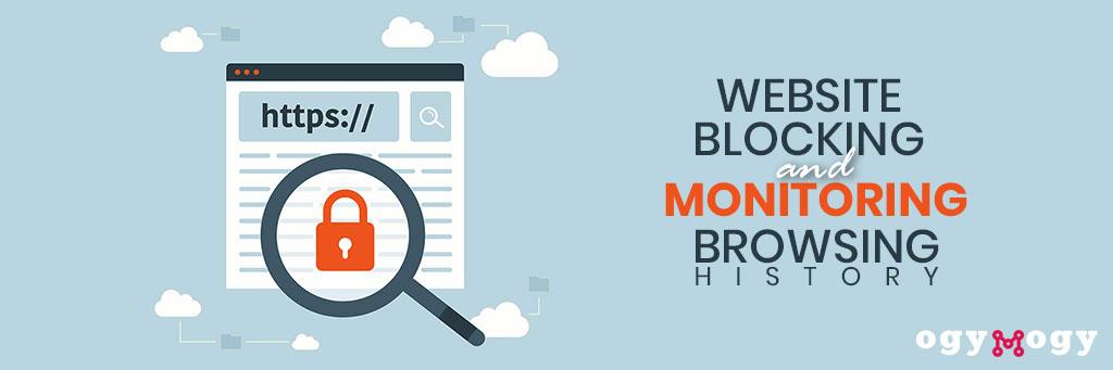 website blocking and monitoring browsing history