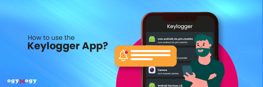 how to use keylogger app