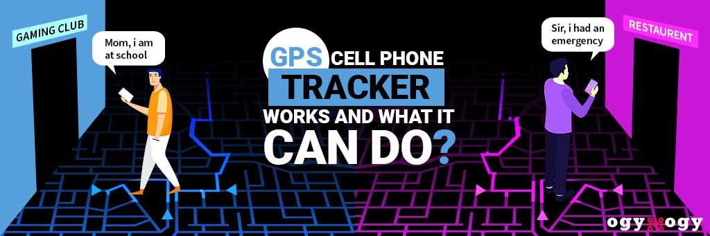 how gps cell phone tracker works
