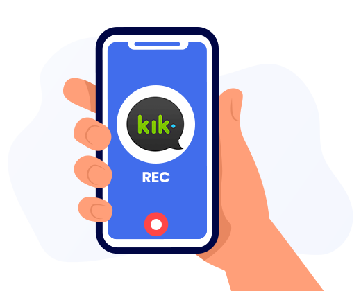 Kik Screen Recorder